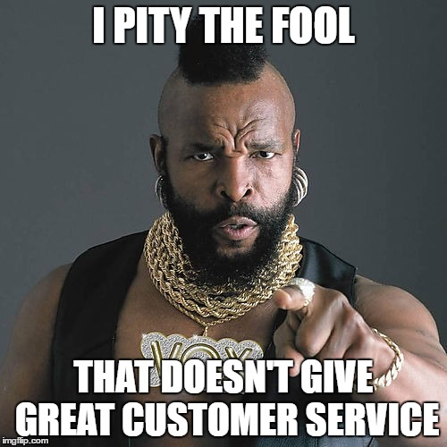 pity the fool